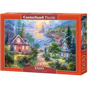 """Castorland (C-151929) - """"Coastal Living"""" - 1500 brikker puslespil"""