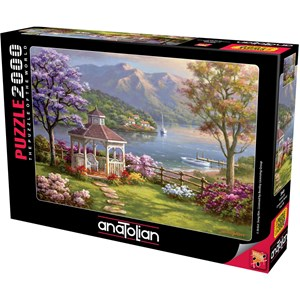 """Anatolian (3949) - Sung Kim: """"Crystal Lake Retreat"""" - 2000 brikker puslespil"""