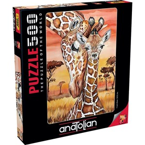 "Anatolian (3615) - Lynn Bean: ""Giraffe"" - 500 brikker puslespil"