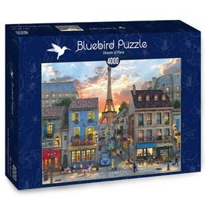 "Bluebird Puzzle (70253) - Dominic Davison: ""Streets of Paris"" - 4000 brikker puslespil"