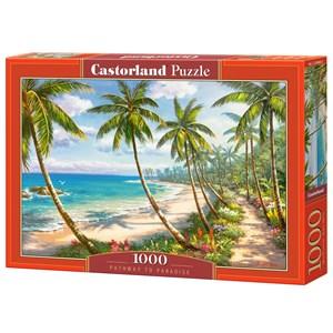 "Castorland (C-104666) - ""Pathway to Paradise"" - 1000 brikker puslespil"