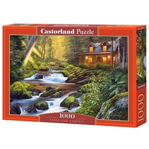 """Castorland (C-104635) - """"Creek Side Comfort"""" - 1000 brikker puslespil"""