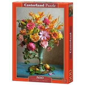 "Castorland (B-53537) - ""Autumn Flowers"" - 500 brikker puslespil"