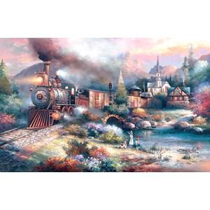 "SunsOut (18014) - James Lee: ""Maryland Mountain Express"" - 1000 brikker puslespil"