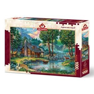 "Art Puzzle (4223) - ""Fairytale House"" - 1000 brikker puslespil"