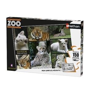 """Nathan (86838) - """"Zoo"""" - 150 brikker puslespil"""