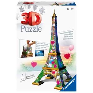 "Ravensburger (11183) - ""Eiffel Tower"" - 216 brikker puslespil"