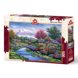 """Art Puzzle (4213) - """"Arc Bridge"""" - 500 brikker puslespil"""