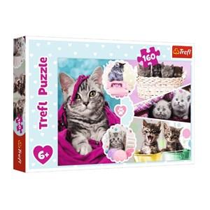 """Trefl (15371) - """"Kittens"""" - 160 brikker puslespil"""