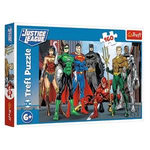 """Trefl (15400) - """"Justice League"""" - 160 brikker puslespil"""