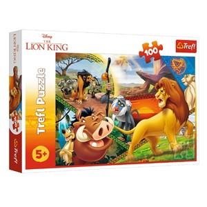"""King International (16359) - """"Løvernes Konge"""" - 100 brikker puslespil"""
