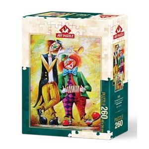"""Art Puzzle (5030) - """"Musician Clowns"""" - 260 brikker puslespil"""