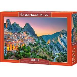 "Castorland (151912) - ""Sunrise over Castelmezzano"" - 1500 brikker puslespil"