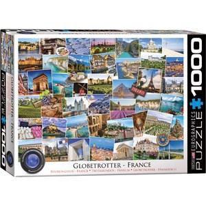 """Eurographics (6000-5466) - """"France"""" - 1000 brikker puslespil"""