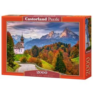 "Castorland (C-200795) - ""Rian Alps, Germany"" - 2000 brikker puslespil"