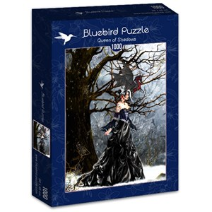 "Bluebird Puzzle (70424) - Nene Thomas: ""Queen of Shadows"" - 1000 brikker puslespil"