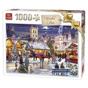 "King International (55946) - ""Winter Fair"" - 1000 brikker puslespil"