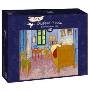 "Bluebird Puzzle (60004) - Vincent van Gogh: ""Bedroom in Arles, 1888"" - 1000 brikker puslespil"