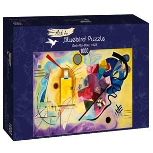 "Bluebird Puzzle (60036) - Vassily Kandinsky: ""Gelb-Rot-Blau, 1925"" - 1000 brikker puslespil"