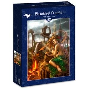 "Bluebird Puzzle (70429) - Cris Ortega: ""The last Stand"" - 1500 brikker puslespil"