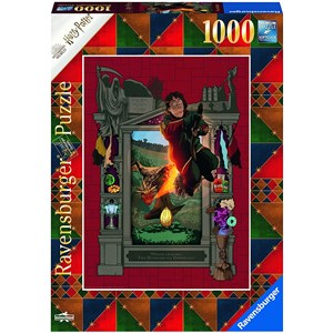 """Ravensburger (16518) - """"Harry Potter"""" - 1000 brikker puslespil"""