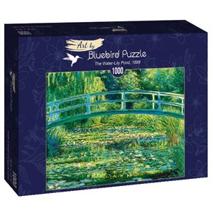 """Bluebird Puzzle (60043) - Claude Monet: """"The Water-Lily Pond, 1899"""" - 1000 brikker puslespil"""