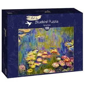 "Bluebird Puzzle (60044) - Claude Monet: ""Nymphéas"" - 1000 brikker puslespil"
