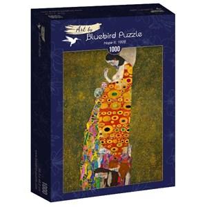 "Bluebird Puzzle (60022) - Gustav Klimt: ""Hope II, 1908"" - 1000 brikker puslespil"