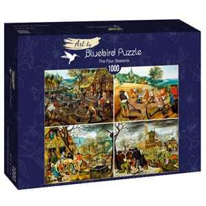 "Bluebird Puzzle (60020) - Pieter Brueghel the Younger: ""The Four Seasons"" - 1000 brikker puslespil"