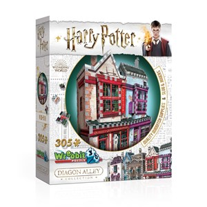"Wrebbit (0509) - ""Harry Potter, Quality Quidditch Supplies and Slug & Jiggers"" - 305 brikker puslespil"