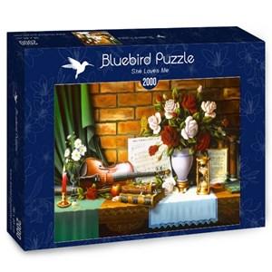 "Bluebird Puzzle (70078) - ""She Loves Me"" - 2000 brikker puslespil"