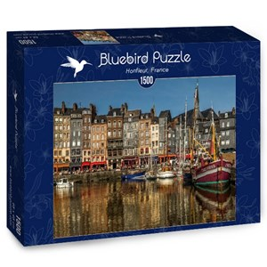 "Bluebird Puzzle (70040) - ""Honfleur, France"" - 1500 brikker puslespil"