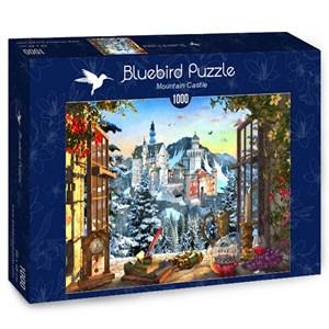 "Bluebird Puzzle (70122) - ""Mountain Castle"" - 1000 brikker puslespil"