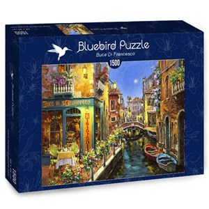 "Bluebird Puzzle (70059) - ""Buca Di Francesco"" - 1500 brikker puslespil"