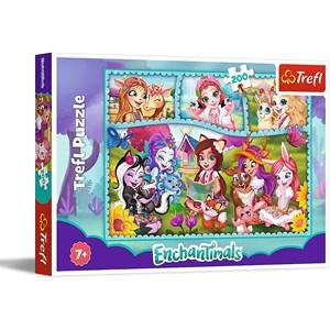 "Trefl (13261) - ""Enchantimals"" - 200 brikker puslespil"