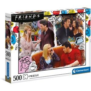"Clementoni (35090) - ""Friends"" - 500 brikker puslespil"