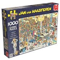 """Jumbo (17466) - Jan van Haasteren: """"Kasseapparat!"""" - 1000 brikker puslespil"""