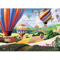 "Ravensburger (14871) - Joseph Burgess: ""Brilliant Balloons"" - 500 brikker puslespil"