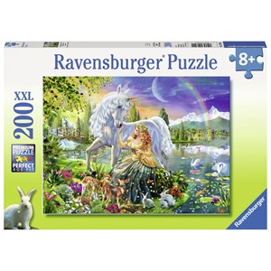 "Ravensburger (12642) - Adrian Chesterman: ""Gathering at Twilight"" - 200 brikker puslespil"