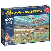 "Jumbo (17459) - Jan van Haasteren: ""Football Crazy!"" - 1000 brikker puslespil"