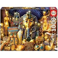 "Educa (16751) - Andrew Farley: ""Treasures Of Egypt"" - 1000 brikker puslespil"