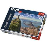 "Trefl (10405) - ""Rio De Janeiro, Brazil"" - 1000 brikker puslespil"