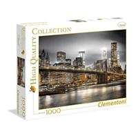 "Clementoni (39366) - ""New York Skyline"" - 1000 brikker puslespil"