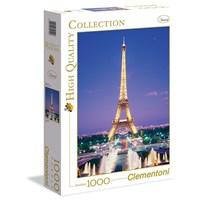"Clementoni (39122) - ""Paris"" - 1000 brikker puslespil"
