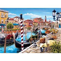 "Clementoni (35026) - ""Venetian Lagoon"" - 500 brikker puslespil"