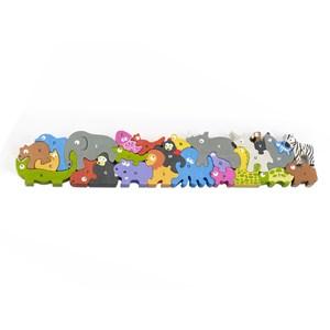 "Begin Again (I1305) - ""Jumbo Animal Parade A-Z Puzzle"" - 26 brikker puslespil"