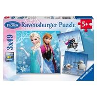 """Ravensburger (09264) - """"Frost vinter"""" - 49 brikker puslespil"""