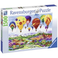 "Ravensburger (16347) - Nancy Wernersbach: ""Spring is in the Air"" - 1500 brikker puslespil"