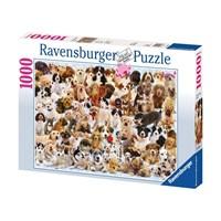 """Ravensburger (15633) - """"Dogs Galore!"""" - 1000 brikker puslespil"""