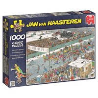 "Jumbo (17310) - Jan van Haasteren: ""Eleven City Tour"" - 1000 brikker puslespil"